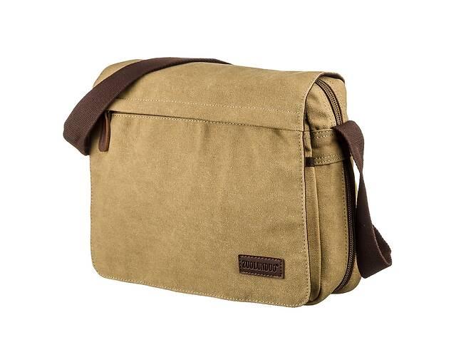 продам Текстильная сумка для ноутбука 13 дюймов через плечо Vintage 20188 Хаки бу в Одессе