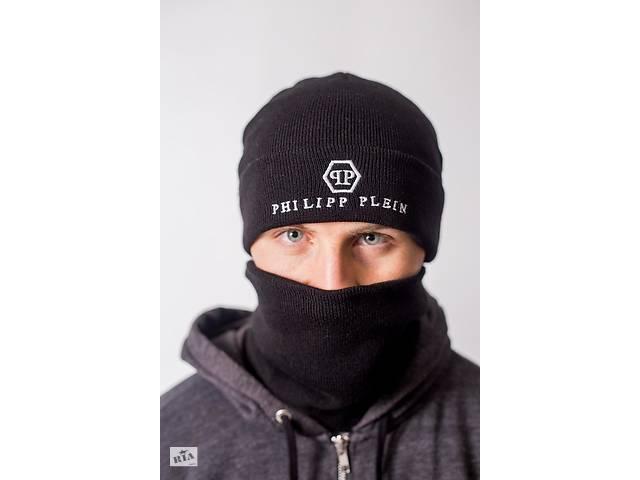 купить бу Теплая зимняя шапка с баффом в Днепре (Днепропетровск)