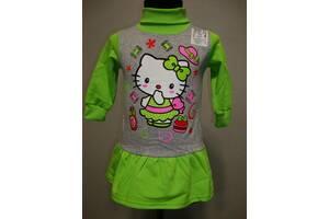 теплое платье КИТТИ  для девочки