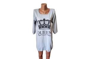 Туника /ночная рубашка женская на байке хлопок Украина р.46,48,50,52,54. От 5шт по 119грн.