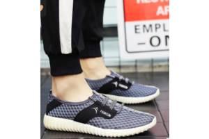 Удобные мужские кроссовки, 39 - 44, Серый
