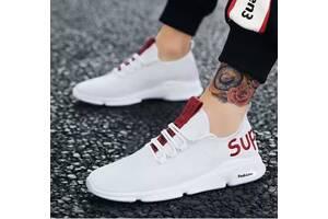 Удобные мужские кроссовки Sup, 40 - 44, Белый 40