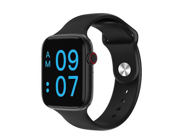 продам Умные часы IWO A-Watch 6 series с sim-картой 44мм Black (SW0001AWB) бу в Киеве