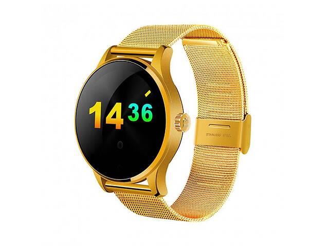 Умные часы Smart Watch K88H классические IPS с шагомером и пульсометром Gold (SWK88HG01)- объявление о продаже  в Киеве