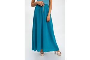 Юбка женская 115R20-1 цвет Голубой