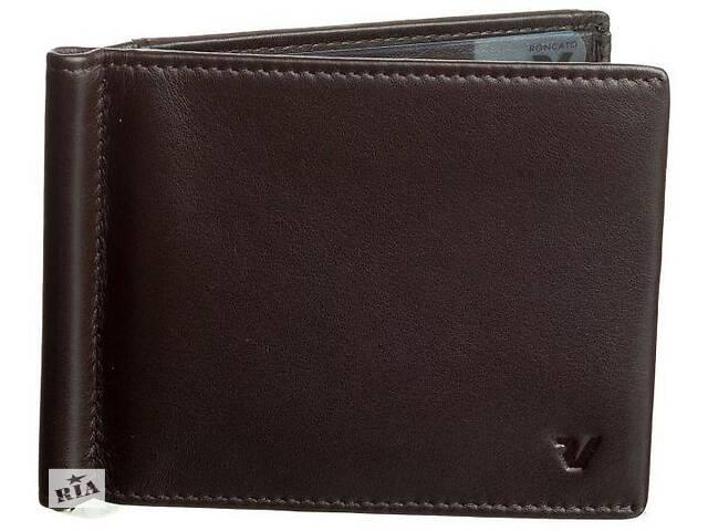 продам Зажим для банкнот Roncato Pascal 412913 44, коричневый бу в Киеве