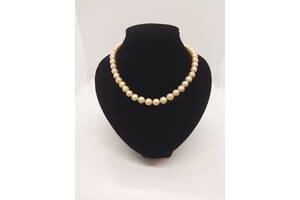 Жемчужное ожерелье из натурального речного жемчуга