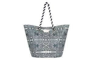 Женская пляжная сумка Roxy SUNSEEKER J TOTE 3613373462381 серая