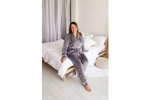 Женская пижама плюш велюр, домашняя одежда