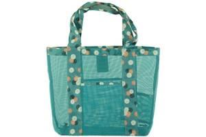 Женская сумка для пляжа Traum 7011-34, голубая