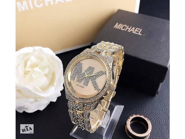 продам Женские часы Michael Kors качественные реплика. Брендовые наручные часы с камнями золотистые серебристые бу в Днепре (Днепропетровск)