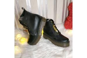 Жіночі шкіряні черевики зима 00661