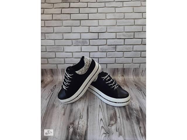 Женские кожаные кроссовки 00620- объявление о продаже  в Мелитополе