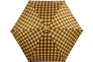 Женский автоматический зонт H Due O желтый