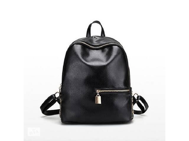 Женский рюкзак Kronos Top Fashion X Черный (stet_842)- объявление о продаже   в Украине