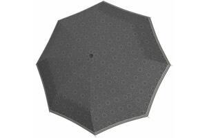 Женский зонт полуавтомат Doppler серый