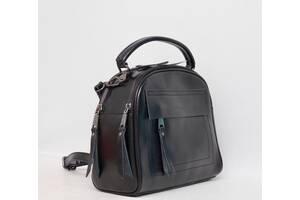 Женская кожаная сумка Galanty из натуральной кожи через плечо