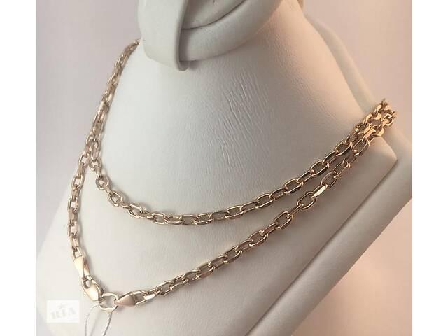 бу Золотая цепь (585 проба, вес 7,83 г, размер 55, плетение якорное) в Ичне