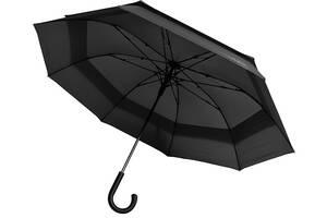 Зонт-трость полуавтомат Bergamo 45300-3, черный