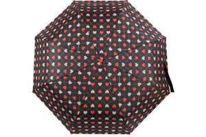 Зонт женский полуавтомат Barbara Vee черный
