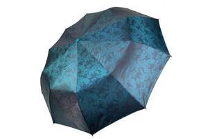 Зонт женский складной Jacquard Flagman Полуавтомат Бирюзовый (5133ZT)