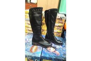 Зимові шкіряні чоботи, ТІЛЬКИ 36р-24,5 см