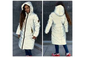 Зимний светоотражающая рефлективная зимняя куртка