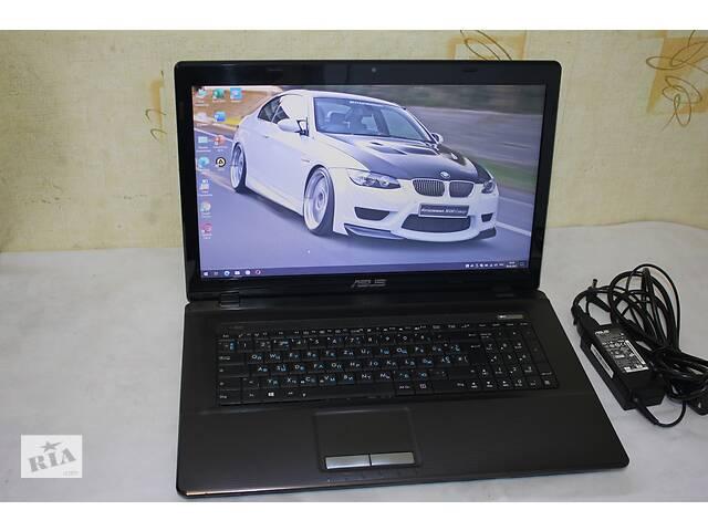 """продам 17,3"""" Ноутбук ASUS K73BE, Большой экран комфортный, для Работы, учебы, игр, интернета бу в Харькове"""
