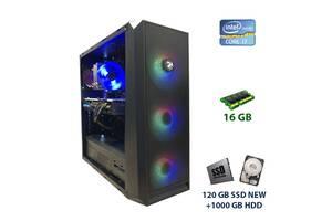 2E Gaming Oberon (GX912) Tower NEW / Intel Core i7-4790 (4 (8) ядра по 3.6 - 4.0 GHz) / 16 GB DDR3 / 120 GB SSD NEW+1...