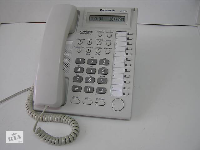 купить бу Аналоговий системний телефон Panasonic KX-T7730 в Києві