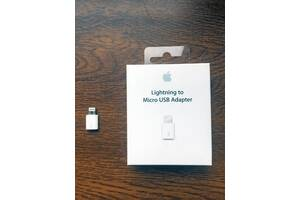 Apple Адаптер Lightning to Micro USB Оригинал (MD820AM/A)