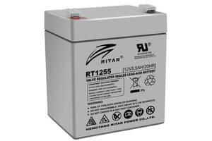 Батарея к ИБП Ritar AGM RT1255, 12V-5.5Ah (RT1255)