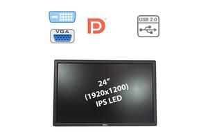 """Монитор Dell U2412MB / 24"""" (1920x1200) IPS LED / 1x DP, 1x DVI-D, 1x VGA, USB-Hub / в комплектации нету подставки (но..."""