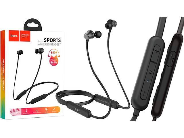 Bluetooth наушники Hoco ES29 Graceful sports Black- объявление о продаже  в Самборе