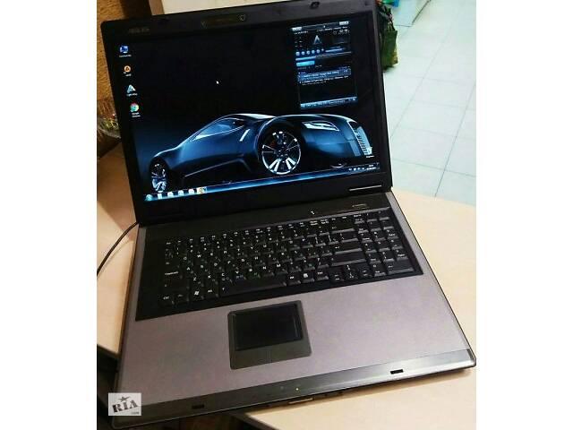 Большой ноутбук Asus F7S (в отличном состоянии).