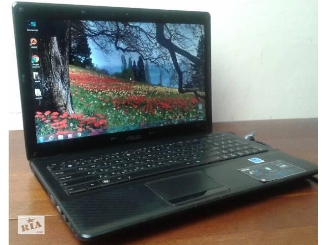 Быстрый ноутбук Asus X52N (3 ядра, 4 гига).