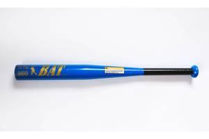 Бита бейсбольная метал 63 см (MS 1428) Синяя