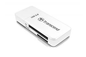 Картрідер USB3.0 Transcend F5W White