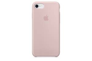 Чехол Apple Silicone Case для iPhone 8 Pink Sand