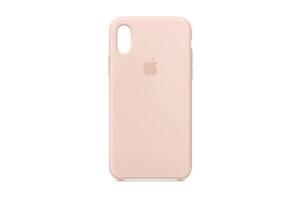 Чехол Apple Silicone Case для iPhone X/Xs Pink Sand (MTF82)