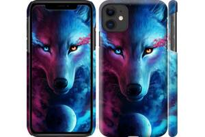"Чехол ""Арт-волк"" для iPhone 4/5/6/7/8/X/XS/XR/XSMax/11/11Pro/Max"