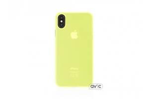 Чехол для Apple iPhone X Silicone Case Lime Copy