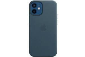 Чехол для моб. телефона Apple iPhone 12 mini Leather Case with MagSafe - Baltic Blue (MHK83ZE/A)