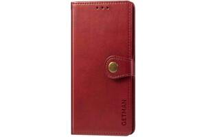Чехол-книжка Getman Gallant Xiaomi Redmi 9 Red (Код товара:11308)