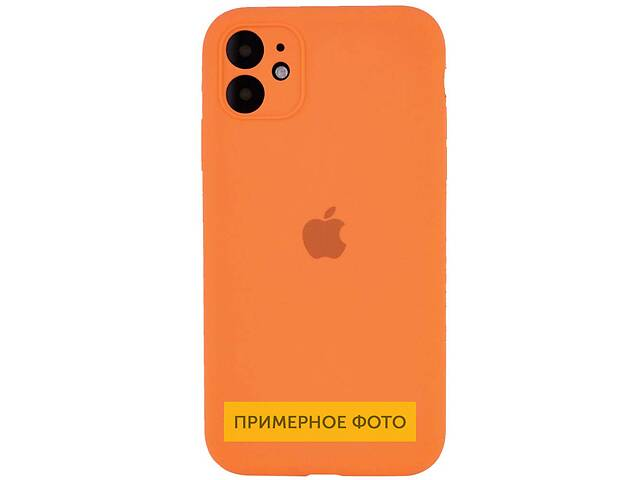 "купить бу Чехол Silicone Case Square Full Camera Protective (AA) для Apple iPhone 11 Pro Max (6.5"") в Одессе"