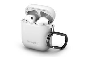 Чехол Spigen для Apple AirPods Silicone, White