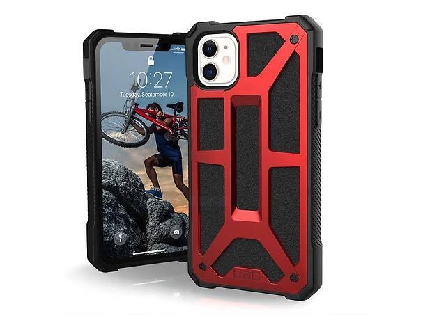 купить бу Чехол UAG для Apple iPhone 11 Monarch, Crimson в Киеве