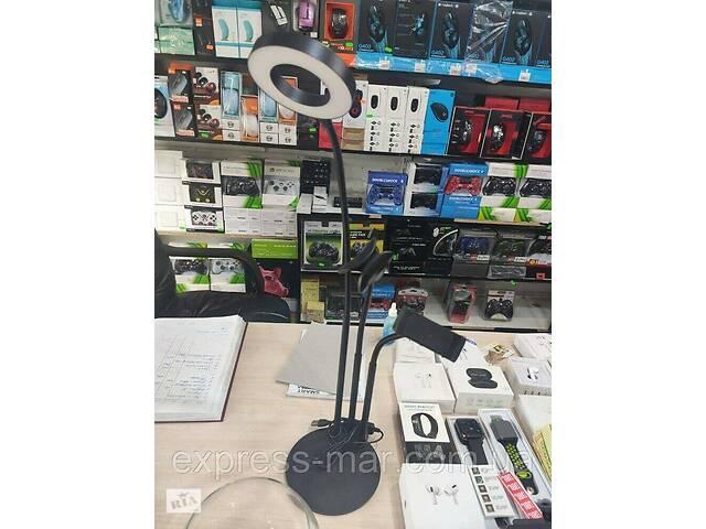 Держатель для телефона с кольцевой LED подсветкой Professional Live Stream, селфи кольцо для блогера- объявление о продаже  в Харькове