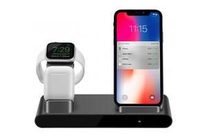 Док-станция PRESTIGIO ReVolt A1, charging station for iPhone, Apple Watch, AirPods (PCS101A_SG)