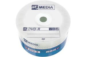 DVD+R MyMedia (69200) 4.7GB, 16x, Matt Silver Wrap, 50шт